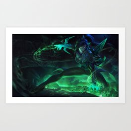 Soulstealer Vayne League Of Legends Art Print