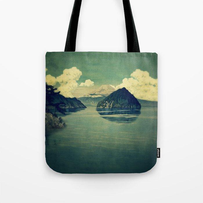 Distant Blues Tote Bag
