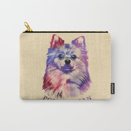 Cute Pomeranian German Spitz Carry-All Pouch