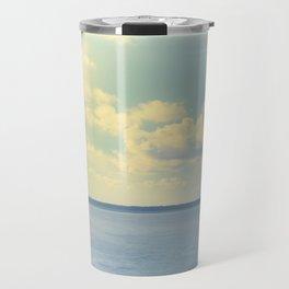Clear Blue Sky Travel Mug