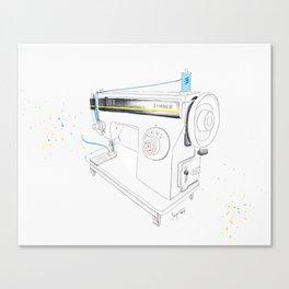 Vintage Singer 964 Sewing Machine Canvas Print