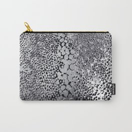 gush of dots in black and white Carry-All Pouch
