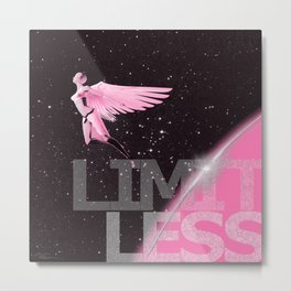 Limitless - Pink Edition Metal Print