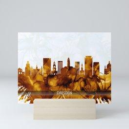 Dresden Germany Skyline Mini Art Print
