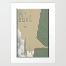 AfterShock - NYC 2099 Art Print