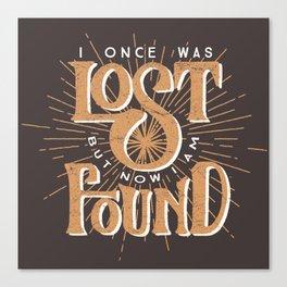 Lost + Found Canvas Print