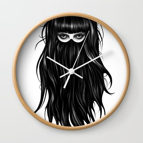 It Girl Wall Clock