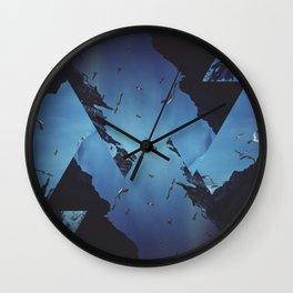 Mountains Celebration Wall Clock