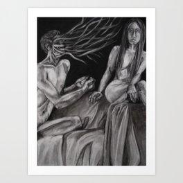 Discord II Art Print