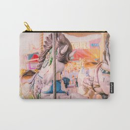 Vintage Carousel Carry-All Pouch