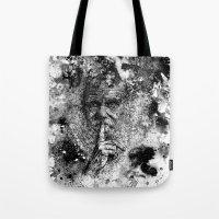 darwin Tote Bags featuring Darwin by Psyca