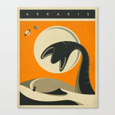 Arrakis Canvas Print