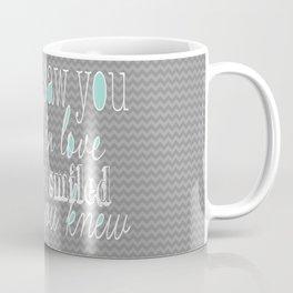 When I Saw You (Mint) Coffee Mug
