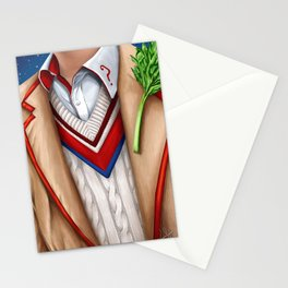 The Fifth Doctor Stationery Cards