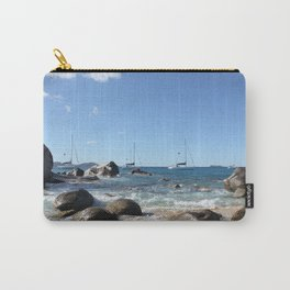 Sailing Boats at the Baths, BVI Carry-All Pouch