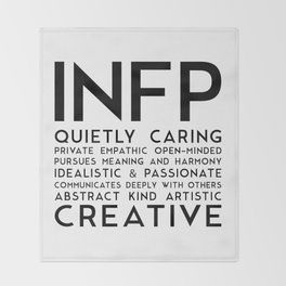 INFP Throw Blanket