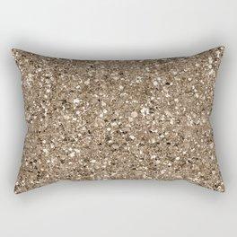 Glitters and Glitz Champagne Rectangular Pillow