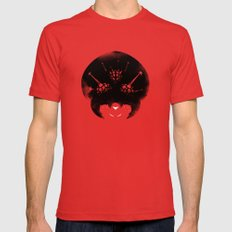 Super Metroid MEDIUM Mens Fitted Tee Red