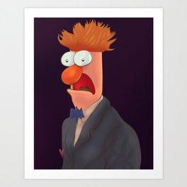 Mister Beaker Art Print