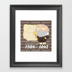 Galileo Galilei Framed Art Print