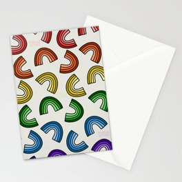 Rainbow Rainbows Stationery Cards