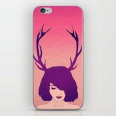Jackalope Lady iPhone & iPod Skin