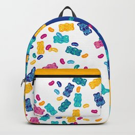 Sweet Jelly Beans & Gummy Bears Backpack