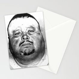 David Martinez mugshot Stationery Cards