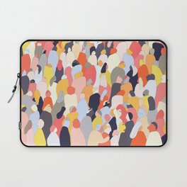 Crowded Laptop Sleeve
