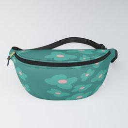 Summer Floral Dream // Summer Collection // minimal botanicals design Fanny Pack