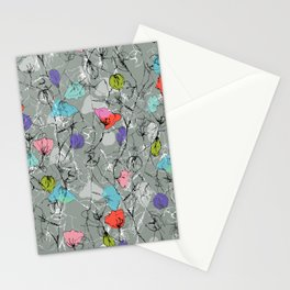 Crawling leaves Stationery Cards