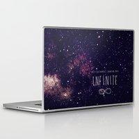 bioshock infinite Laptop & iPad Skins featuring Infinite by Enyalie