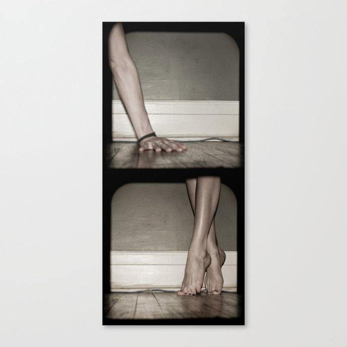 Top/Bottom Canvas Print