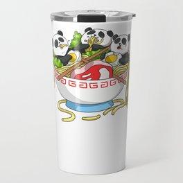Ramen Kawaii Panda T-Shirt I Japanese Food Lover Travel Mug