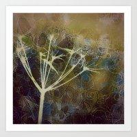 Sunset Meadow Art Print