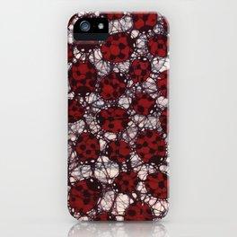 Ladybug Batik iPhone Case
