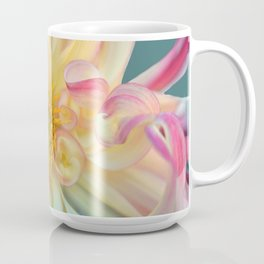 Yellow Dahlia Flower Bloom Coffee Mug