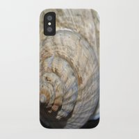 shell iPhone & iPod Cases featuring Shell by Brian Raggatt