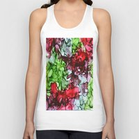 tmnt Tank Tops featuring TMNT by Claire Day
