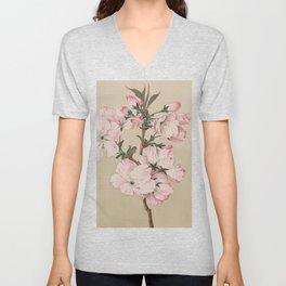 Ariaki - Daybreak Cherry Blossoms Unisex V-Neck
