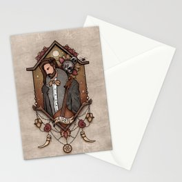 A moment of contemplation Stationery Cards