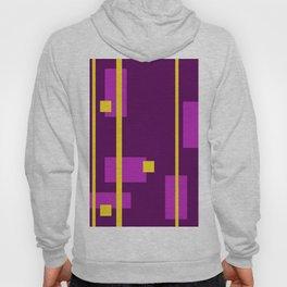 Geometry Design Yellow - Violet Hoody