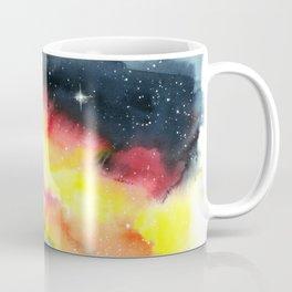 Corgi Galaxy Coffee Mug