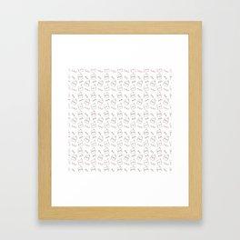 More Cockatiels Framed Art Print