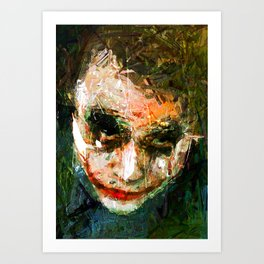 JOKER ART Art Print