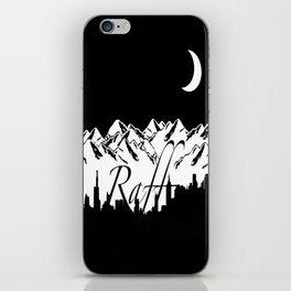 Raff Nights iPhone Skin