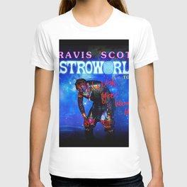 how travis make music scott astroworld T-shirt