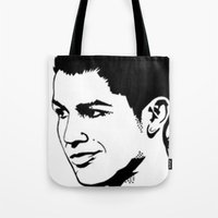 ronaldo Tote Bags featuring ronaldo by b & c