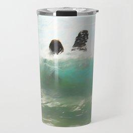 Still Taller Than The Wave Travel Mug