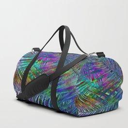Multicolor Palm Leaves 2 Duffle Bag